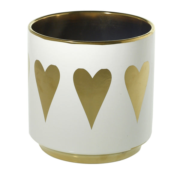 Golden Heart Pot