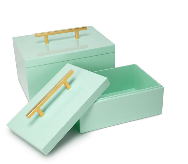 Mint Blair Box (set of 2)