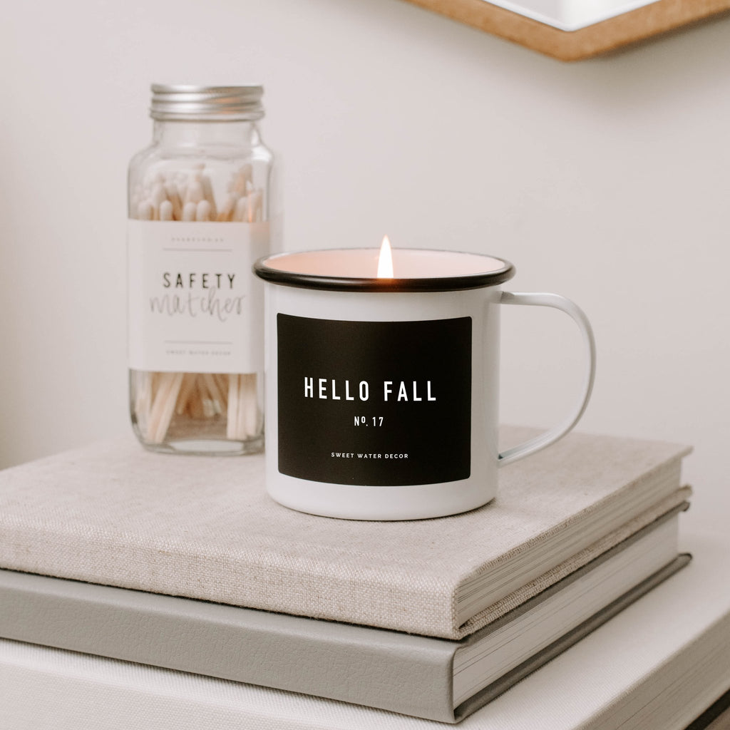 Hello Fall Soy Candle | Mug Candle