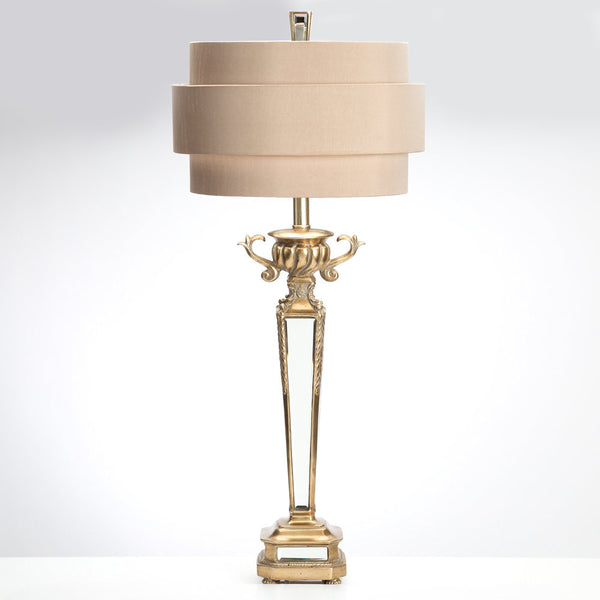 Deco Mirrored Table Lamp