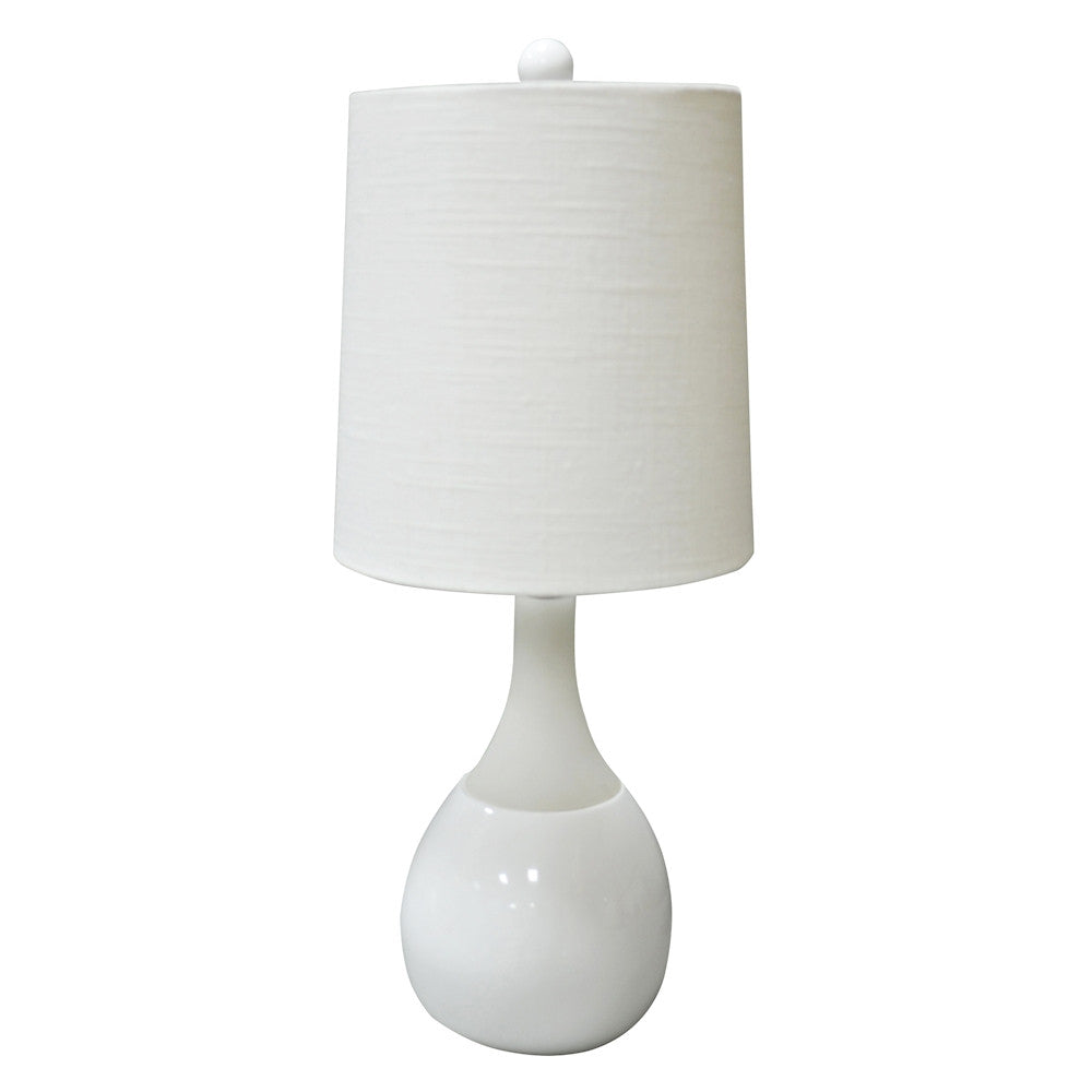 Malibu Accent Lamp-White, Blue or Green
