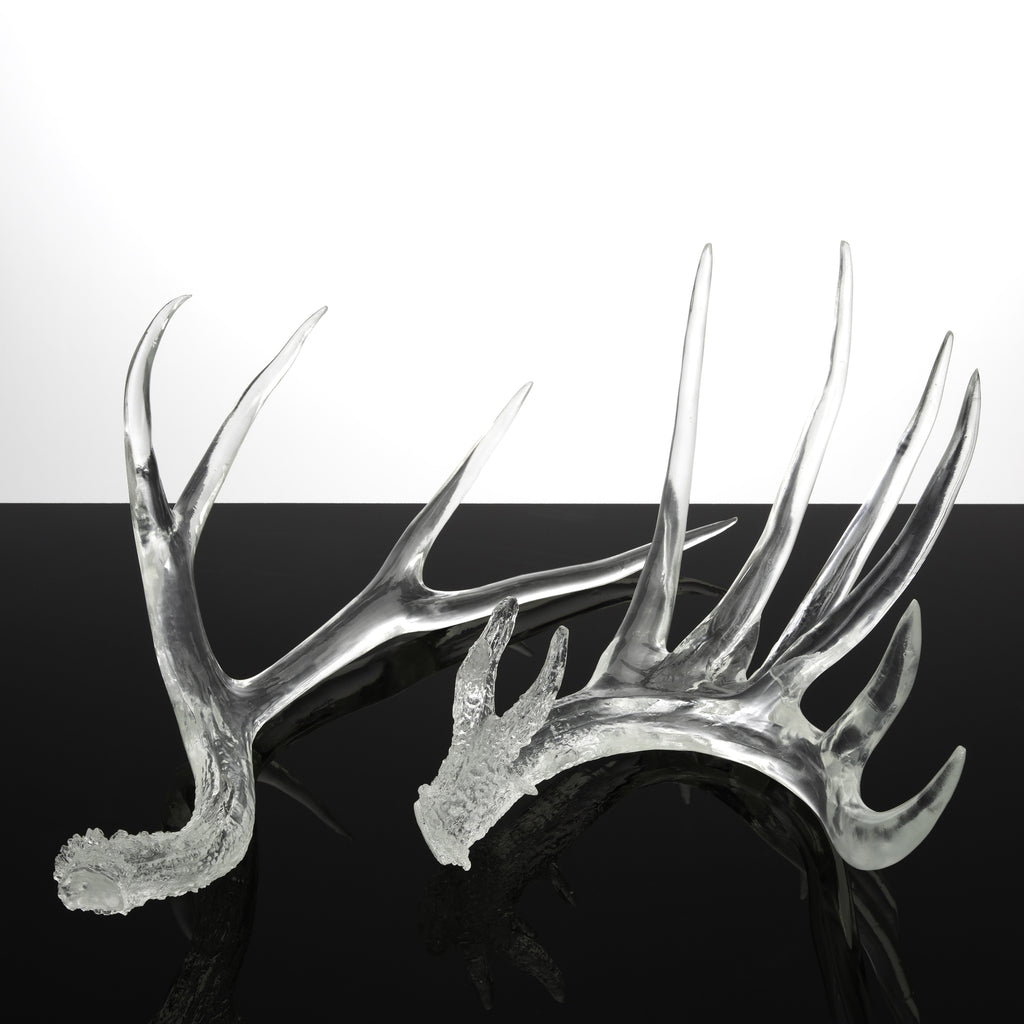 Clear Antlers (set of 2)