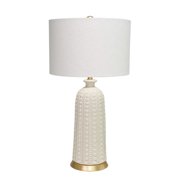 Melrose Table Lamp-White