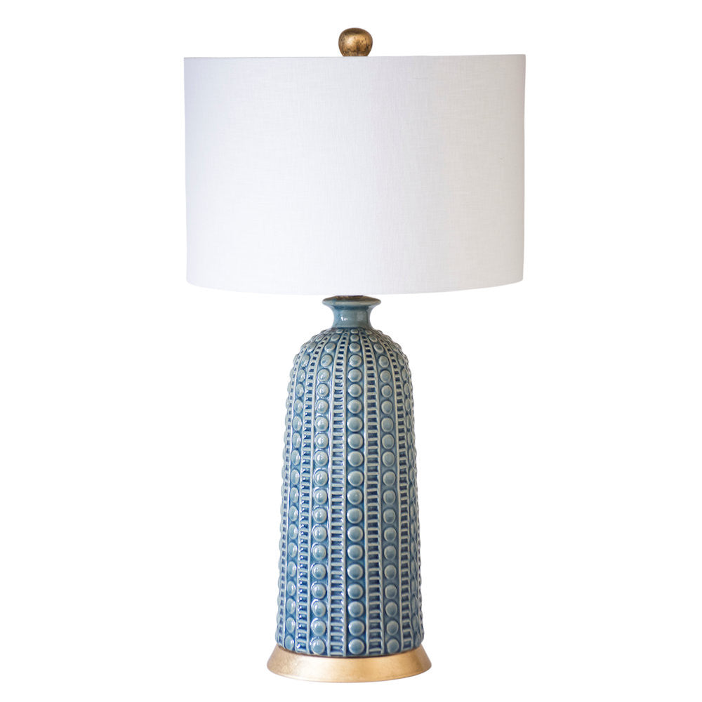 Melrose Table Lamp-Blue