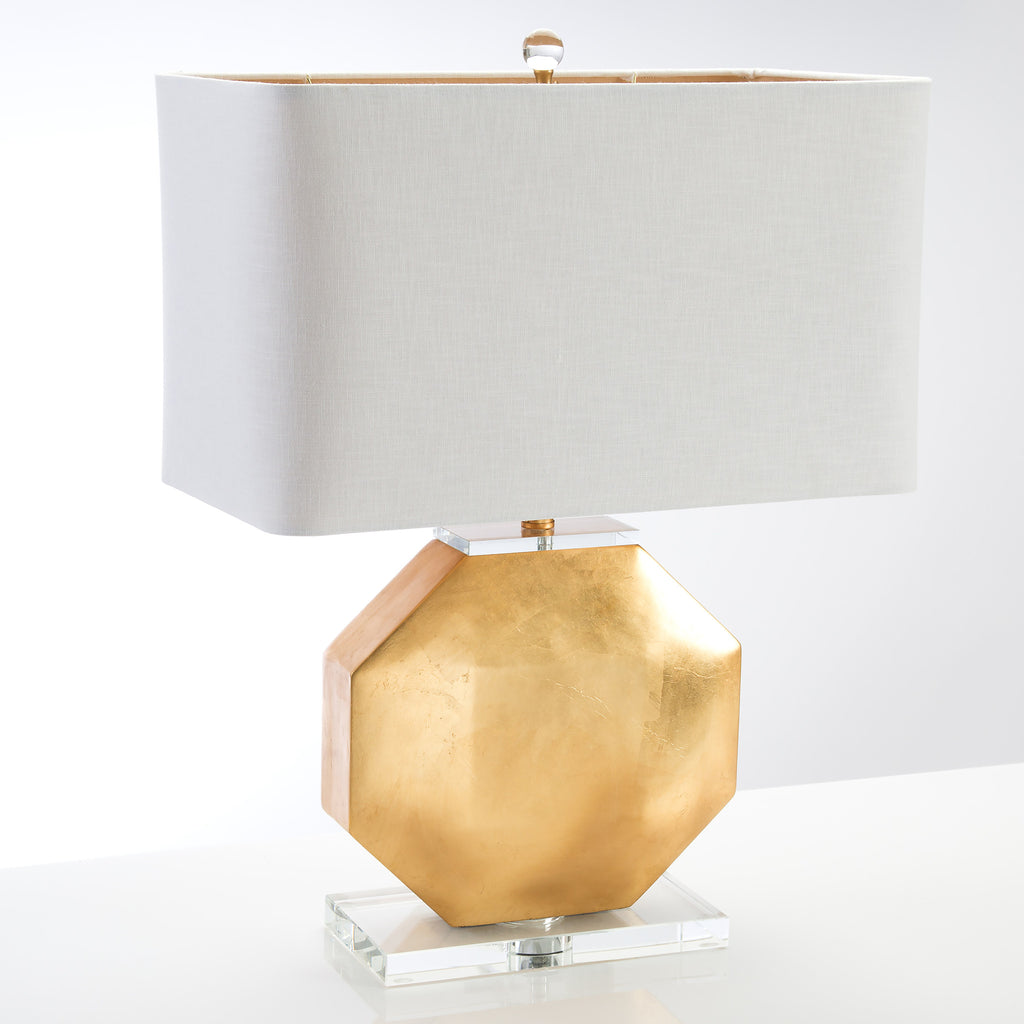 Montage Gold Leaf Table Lamp