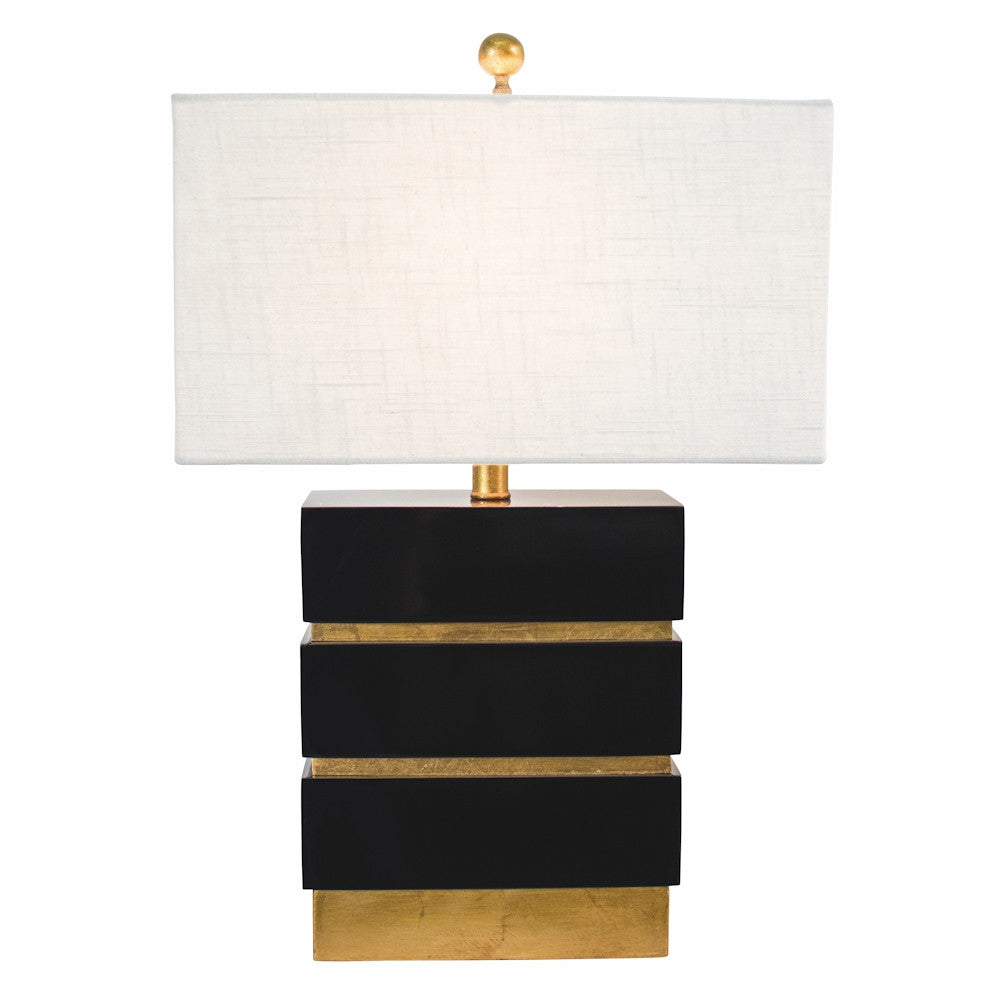 San Simeon Table Lamp in Black or White