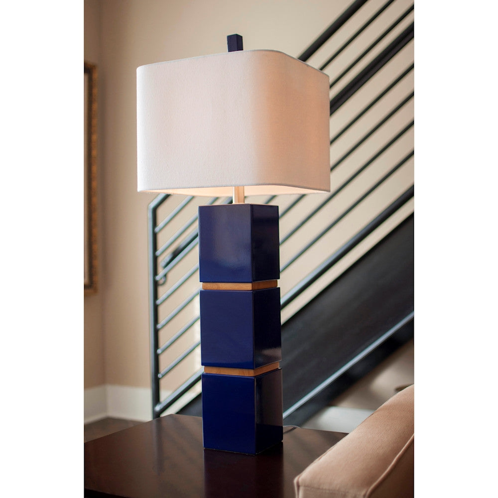 Wilshire Table Lamp in White
