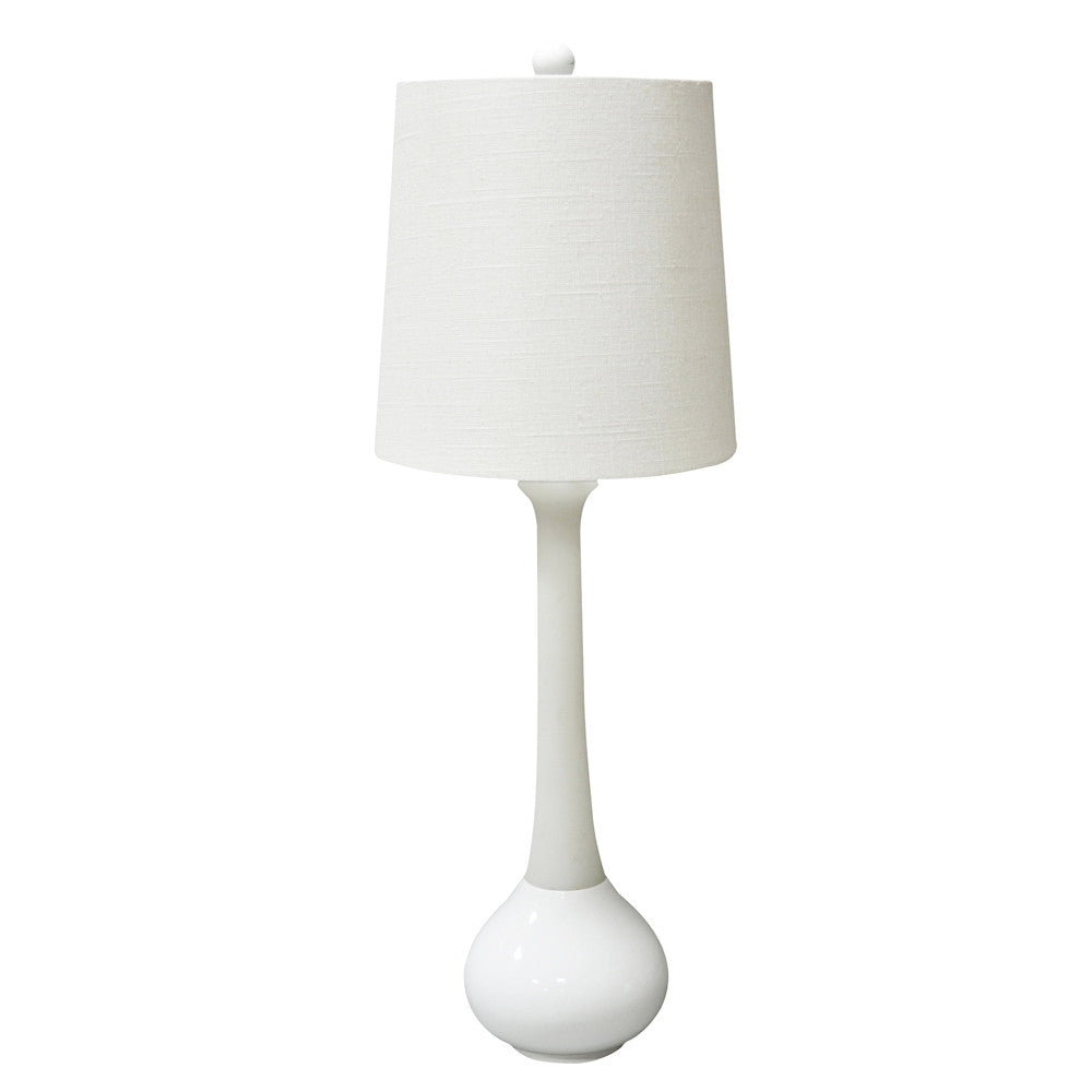 Malibu Table  Lamp in White or Blue