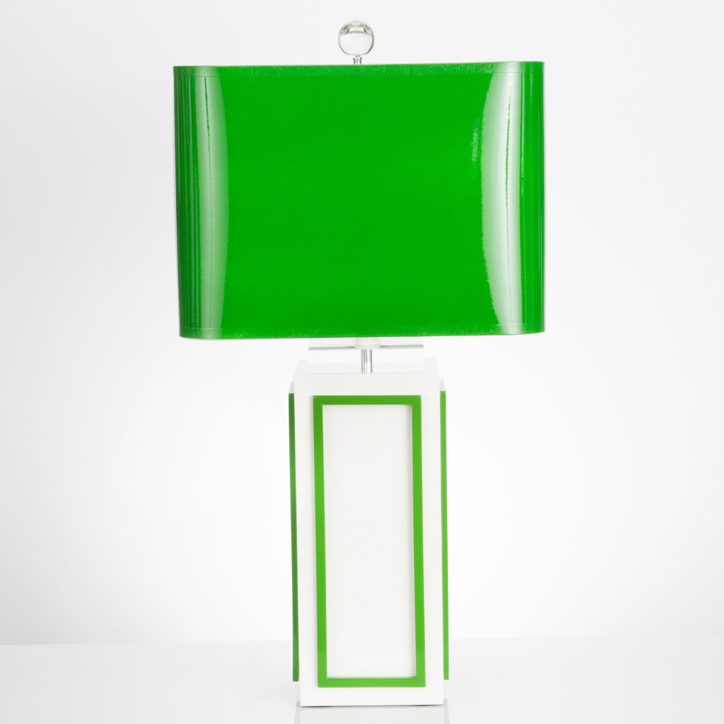 Lagos Table Lamp - Kelly Green