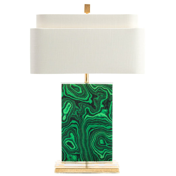 Malachite Table Lamp