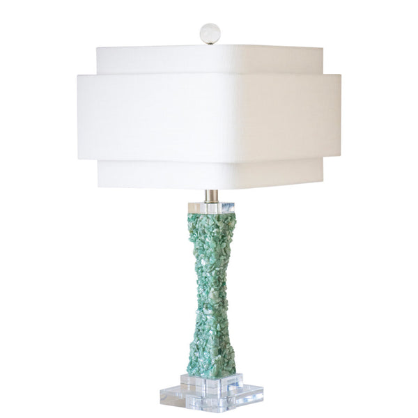 Cienega Table Lamp in Green or Purple