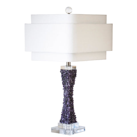 Cienega Table Lamp in Purple or Green