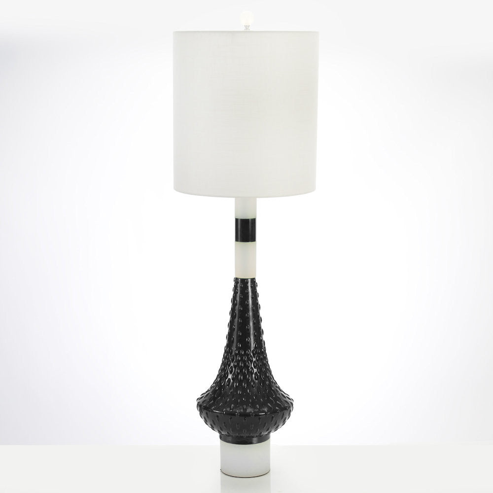 Edie Table Lamp - White