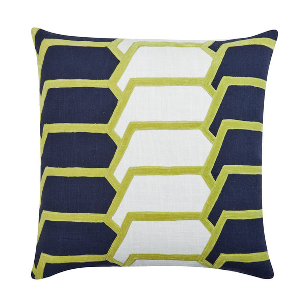 Charley Navy Pillow