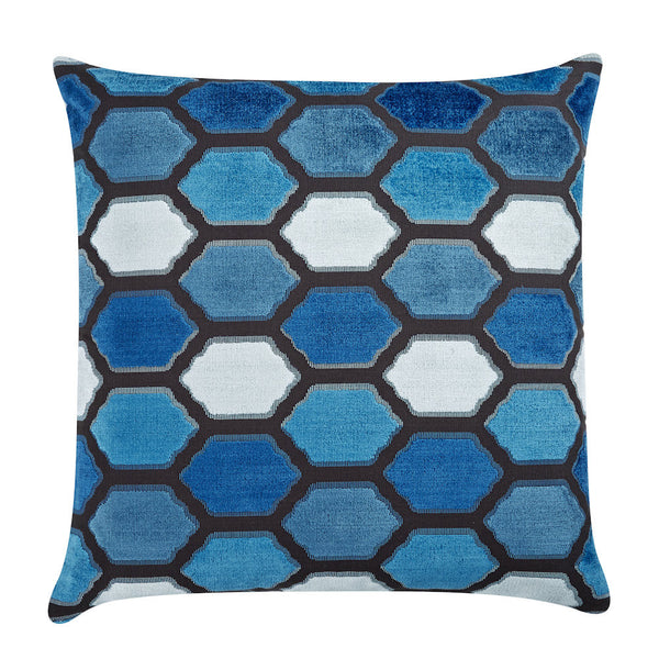 Evie Indigo Pillow