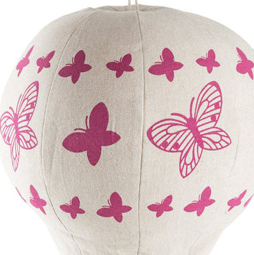 BUTTERFLY HOT AIR BALLOON MOBILE