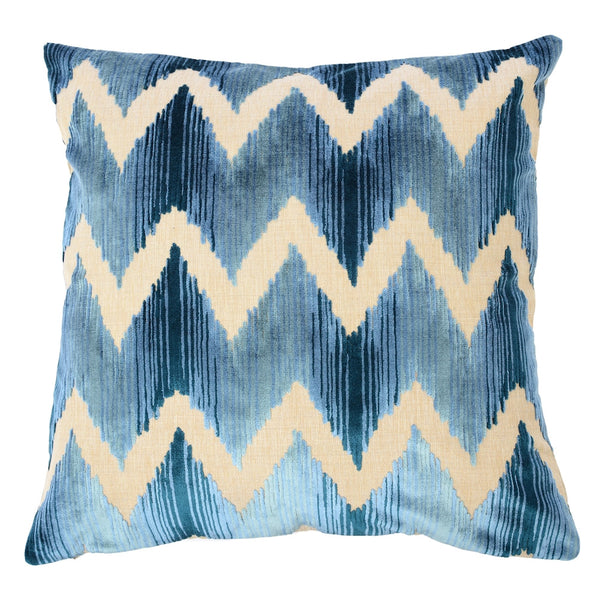Mary Blue Pillow