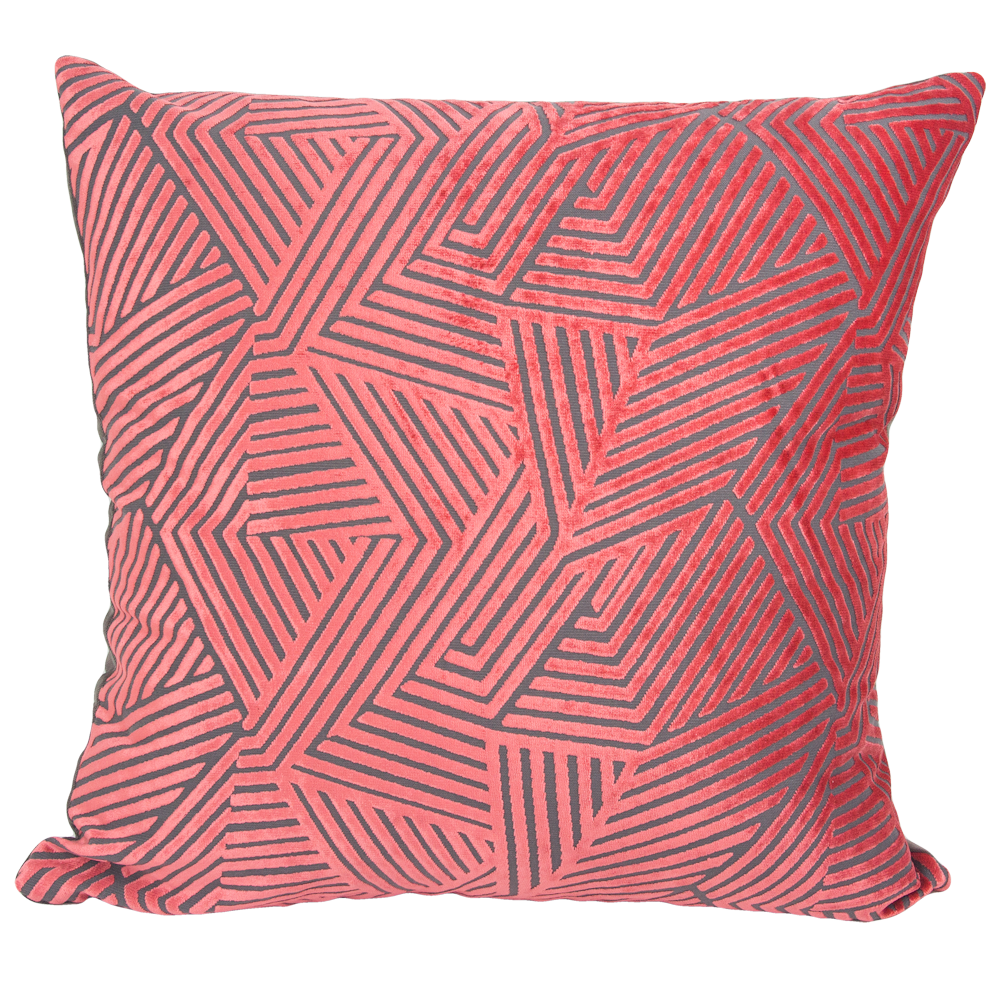 Olivia Coral Pillow