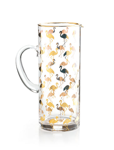 Patio Party Flamingo Pitcher