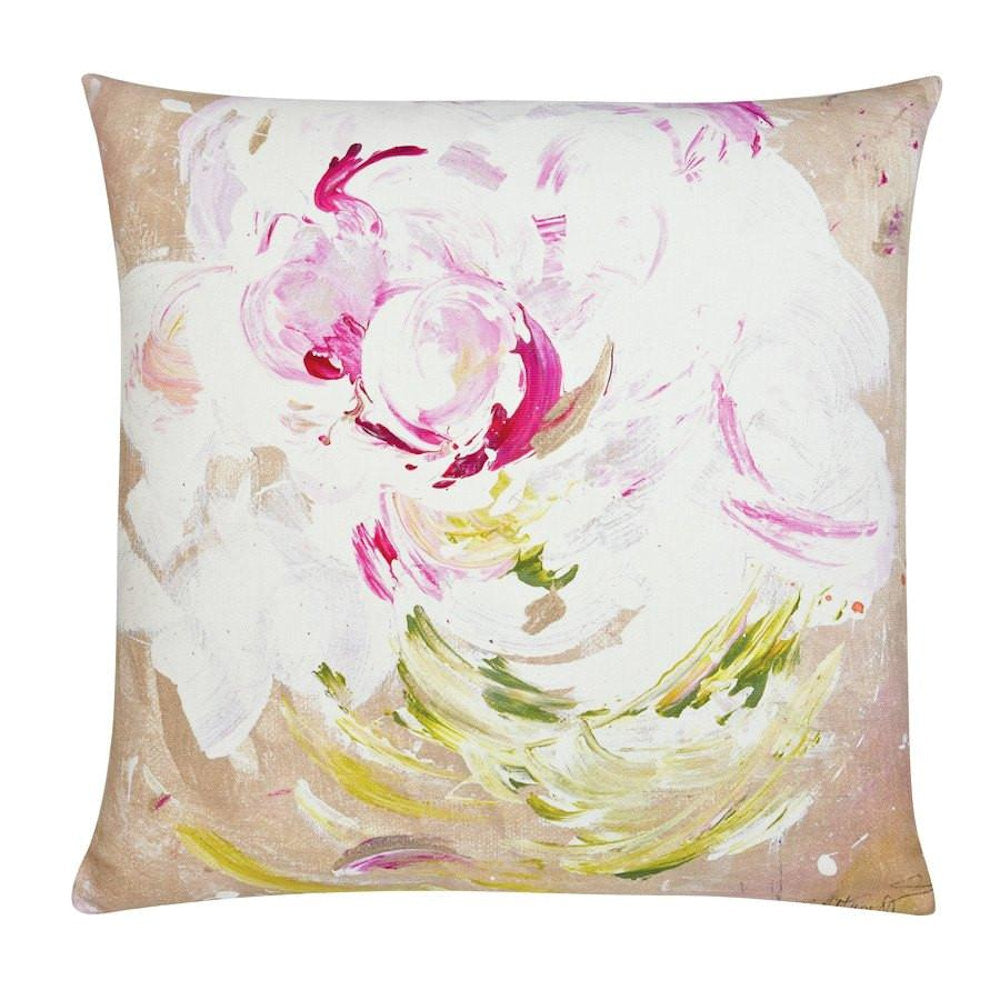 Peony Pop Outdoor Pillow