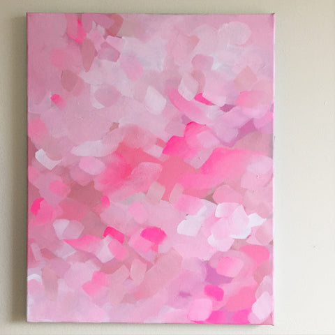 Petals - 16x20 Acrylic on Canvas