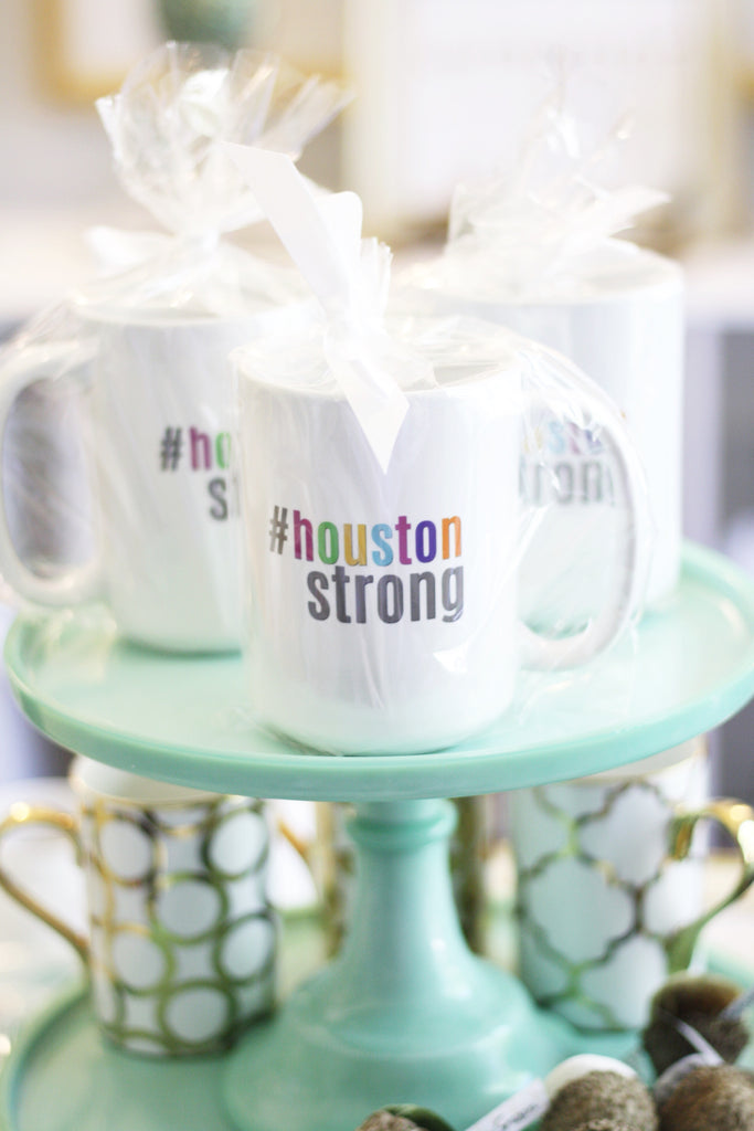 #HoustonStrong Color Block Mug