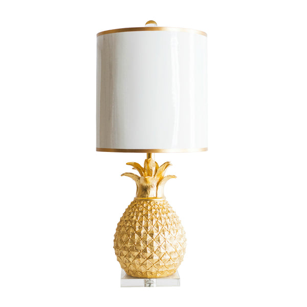 Golden Pineapple Table Lamp