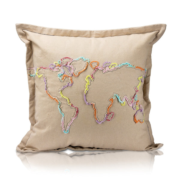 Khoja Map Pillow