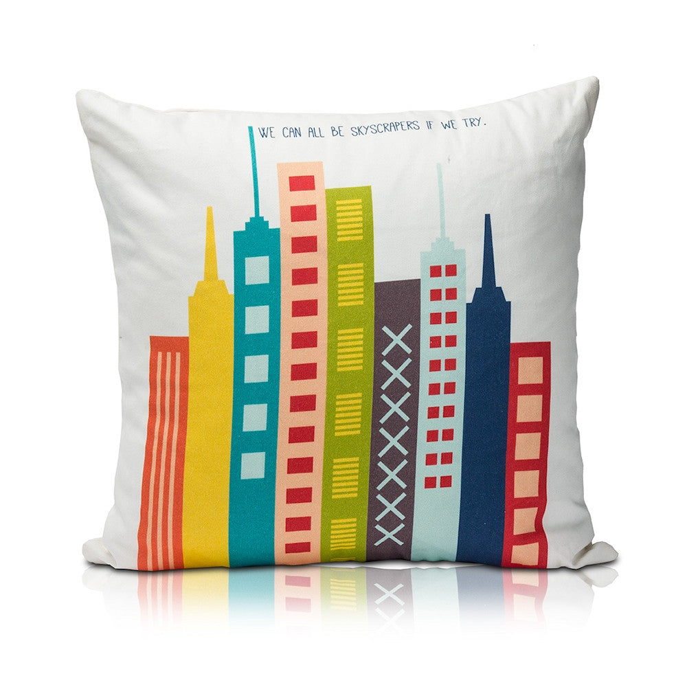 Skycraper Pillow