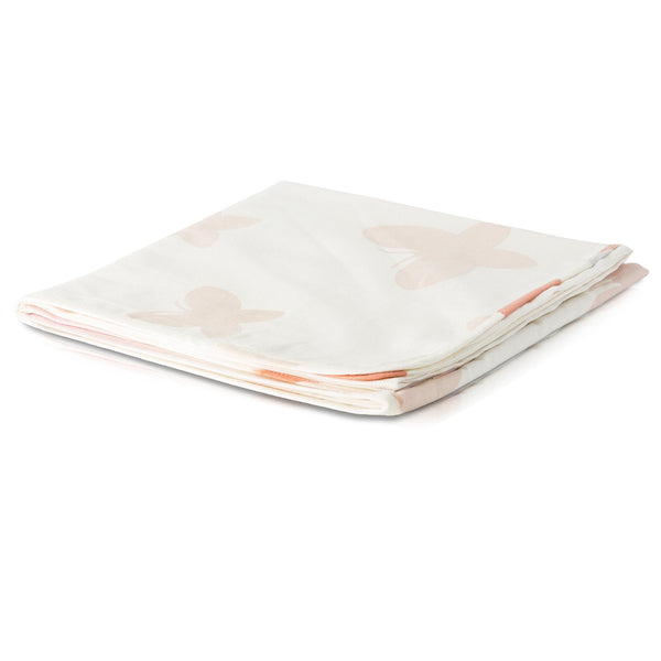 Butterfly Tanna Baby Blanket - Coral