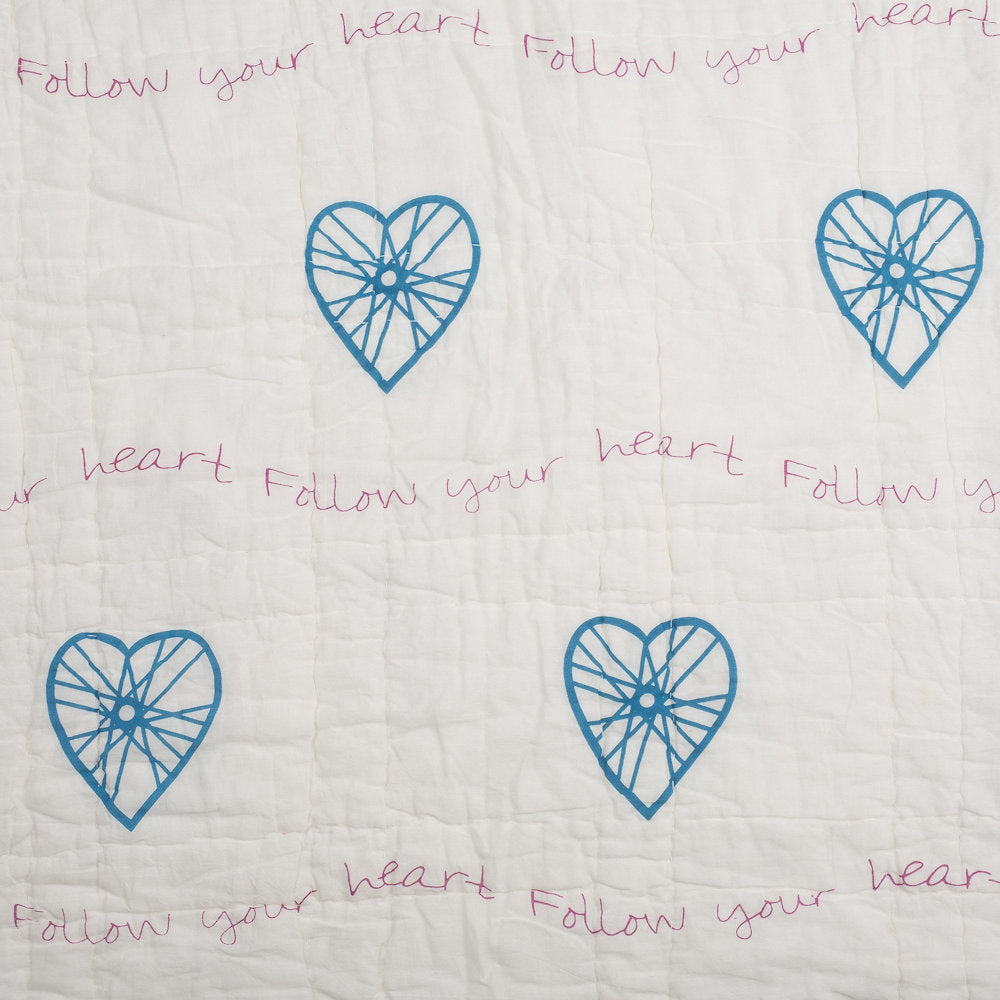 Follow Your Heart Tej Baby Quilt