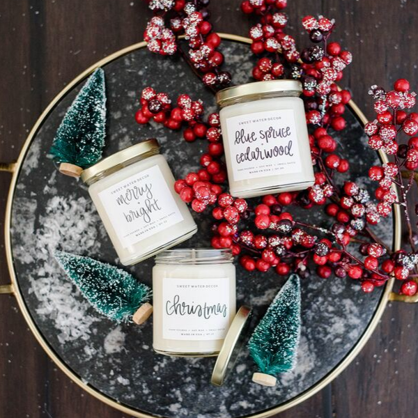 Sweet Water Decor - Winter Wonderland Soy Candle