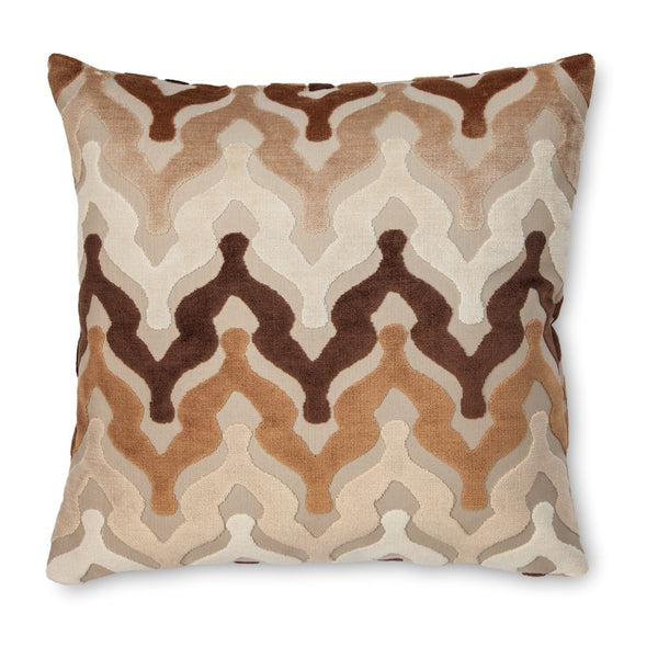 Bella Chocolate Pillow