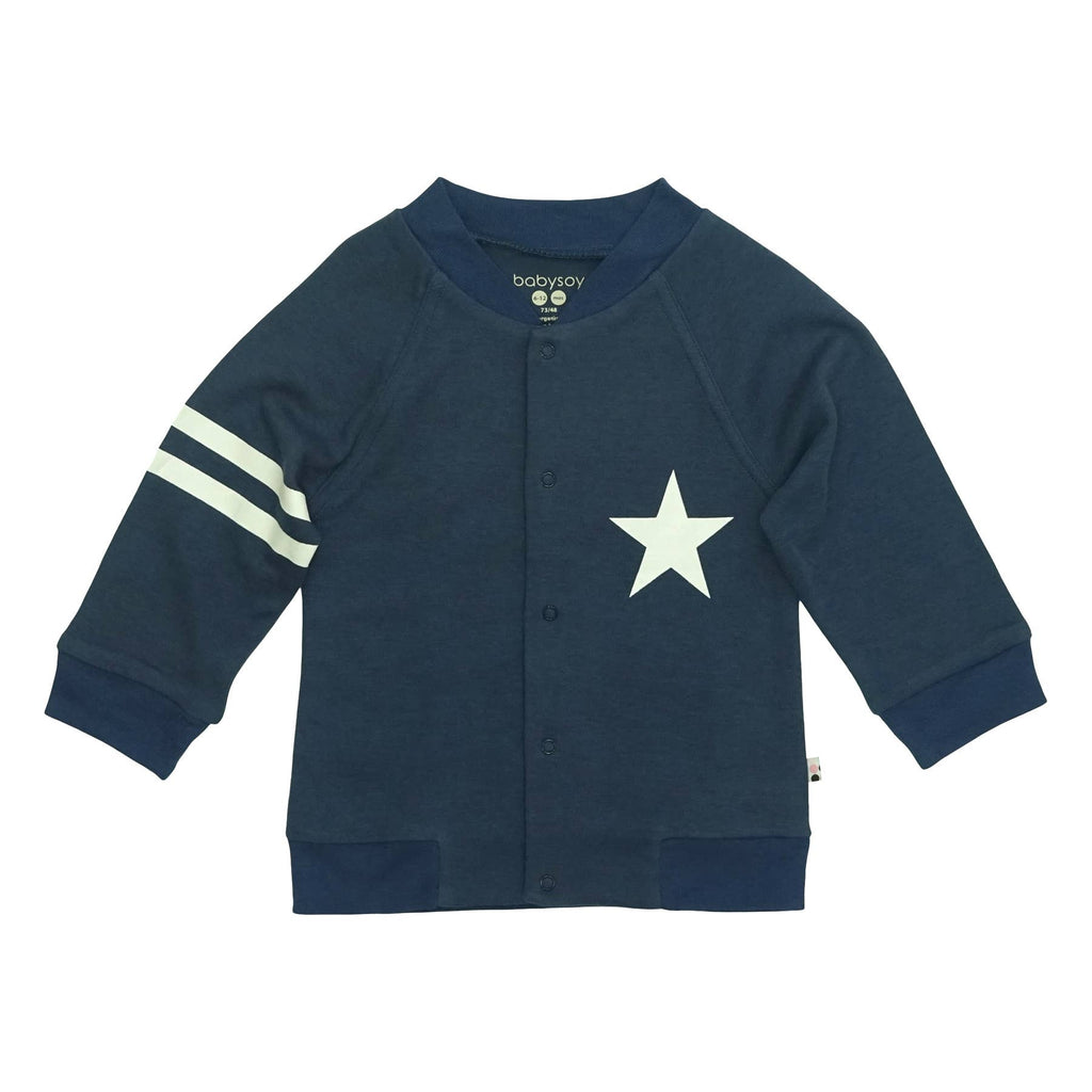 All-Star Varsity Bomber Jacket-Indigo