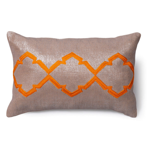 Caitlin Orange Peel Pillow