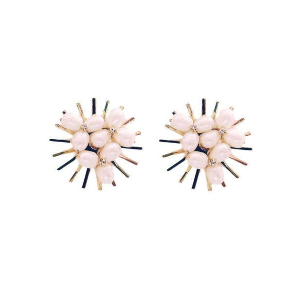 Spiky Pearl Studs
