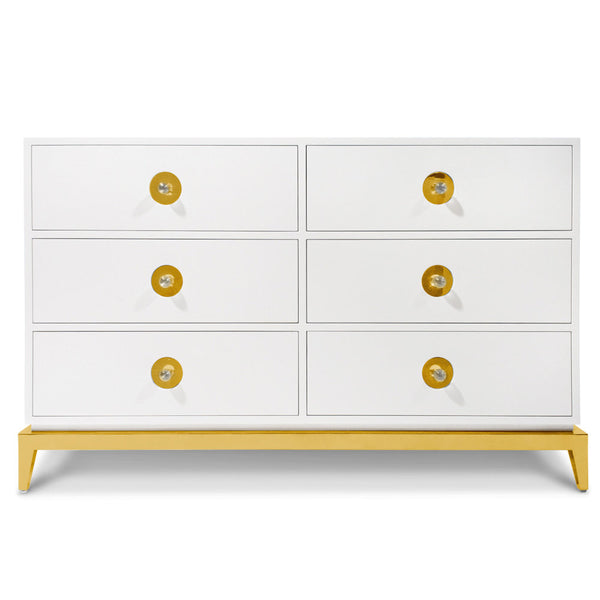 Channing Six-Drawer Dresser by Jonathan Adler