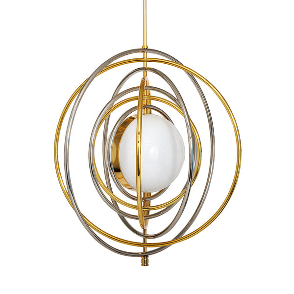 Electrum Kinetic Chandelier by Jonathan Adler