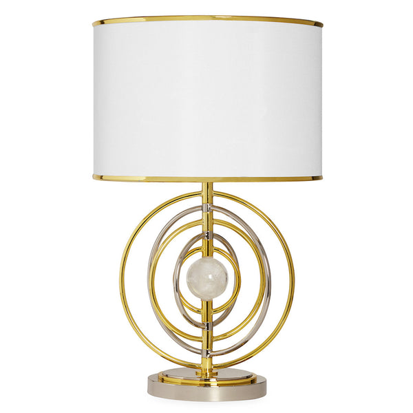 Electrum Kinetic Table Lamp by Jonathan Adler