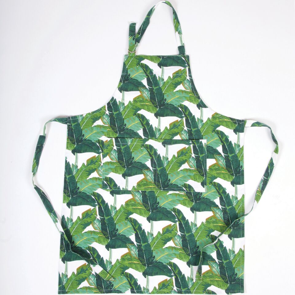 Botanical Leaf Apron