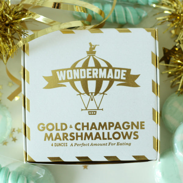 Gold & Champagne Marshmallows