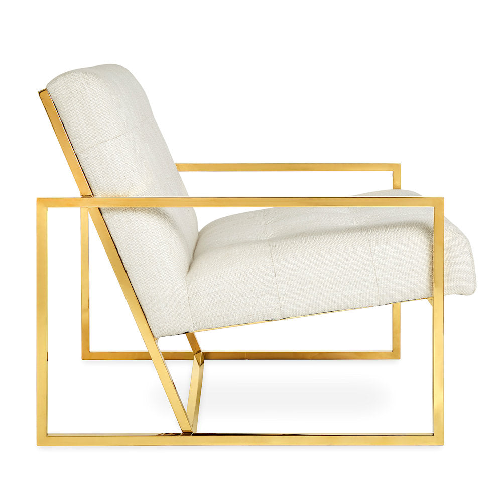 Goldfinger Lounge Chair by Jonathan Adler