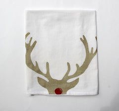 Rudolf Jumbo Tea Towel
