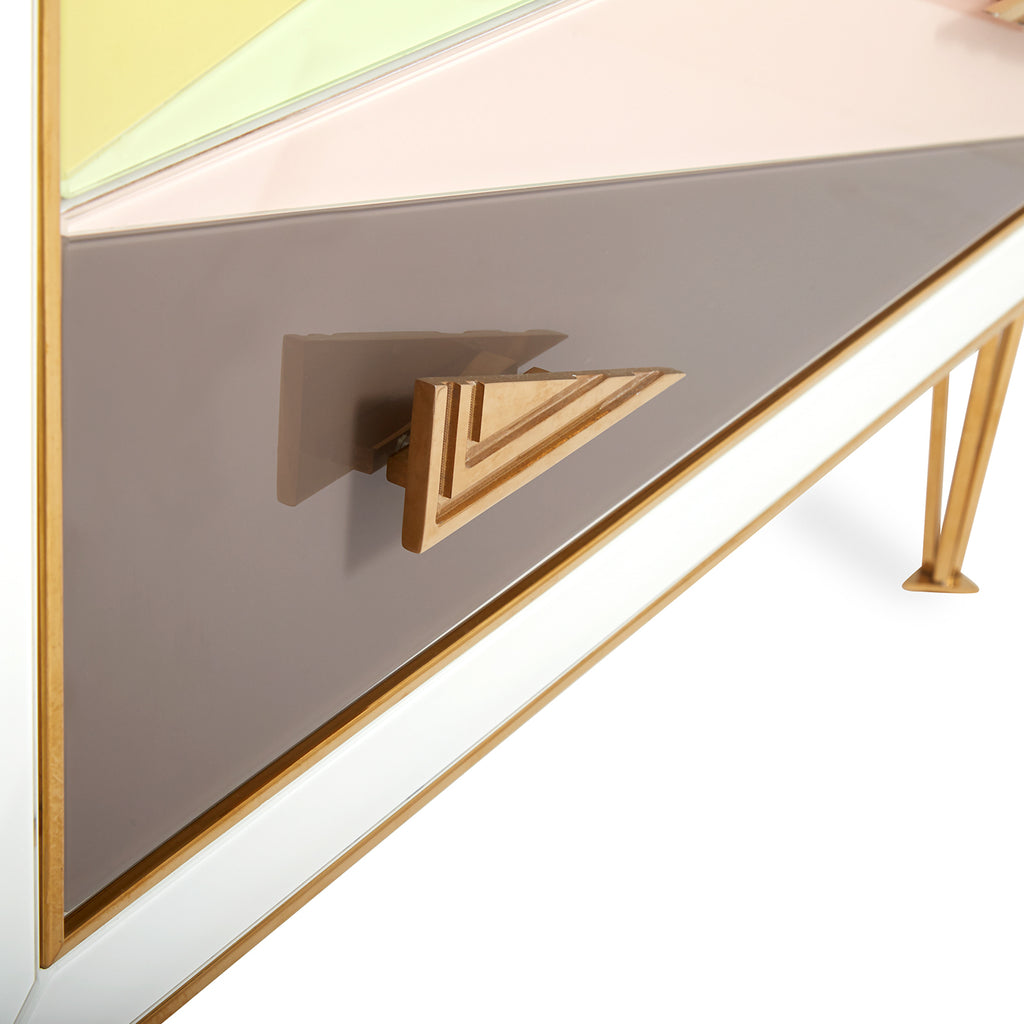 HARLEQUIN THREE-DRAWER CHEST by Jonathan Adler