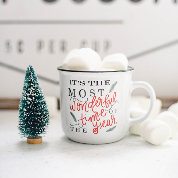 It's the Most Wonderful Time is the Year Campfire Mug