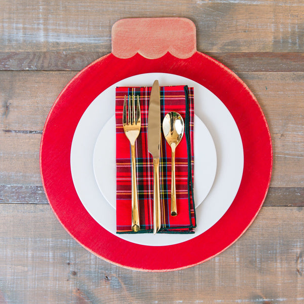 Ornament placemats (set of four)