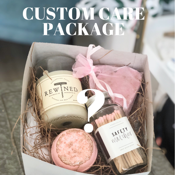 CUSTOMIZE your own Care Package