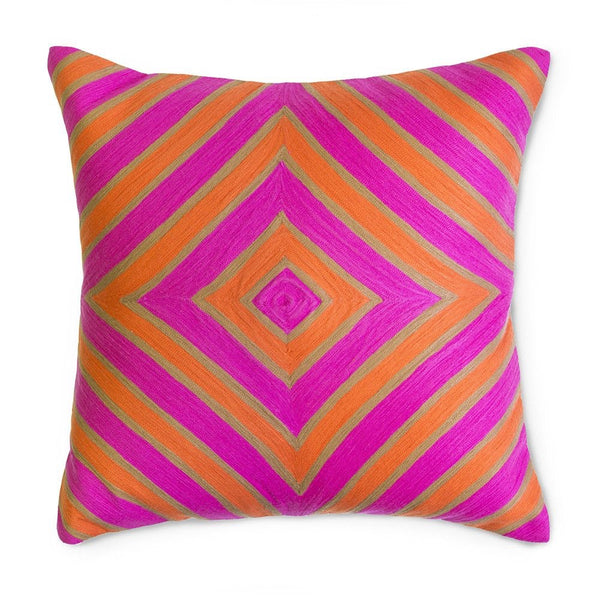 Jaipur Diamond Pillow by Jonathan Adler