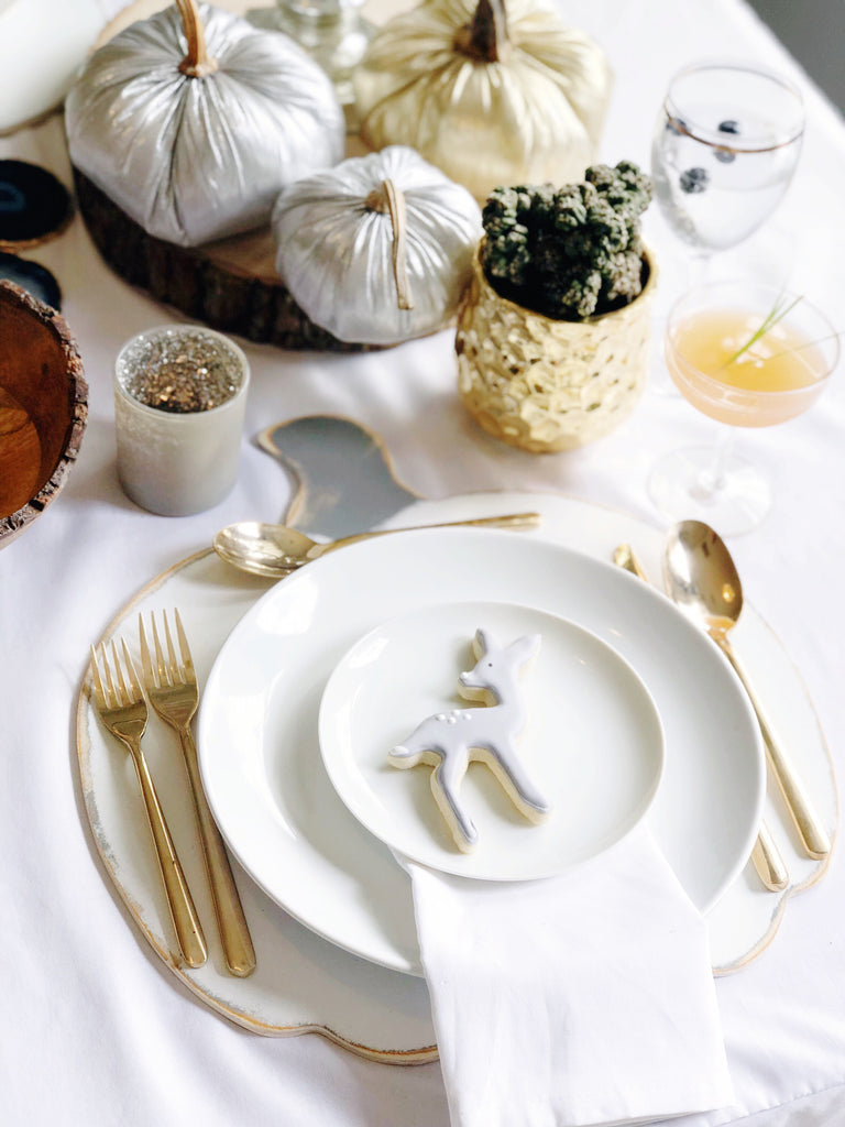 Wooden Pumpkin Placemats (set of 4)