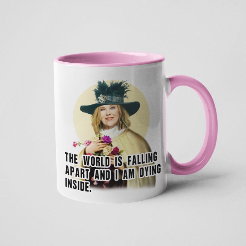 World Is Falling Apart Schitt's Creek Coffee Mug